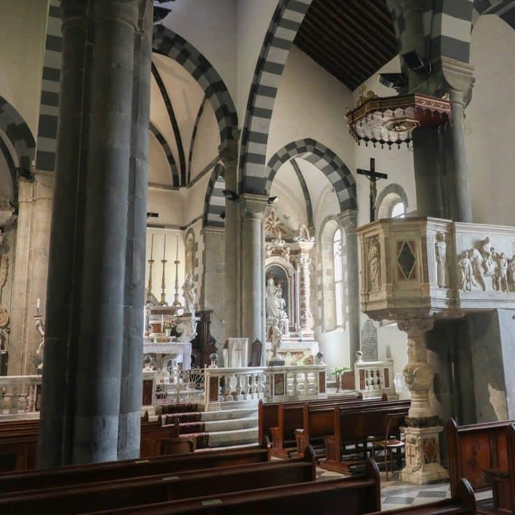 intérieur San Giovanni Battista