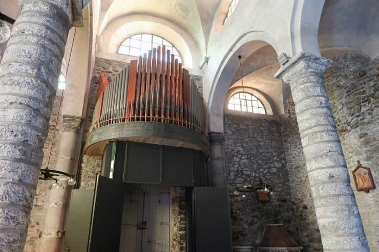 intérieur église Santa Margherita di Antiochia