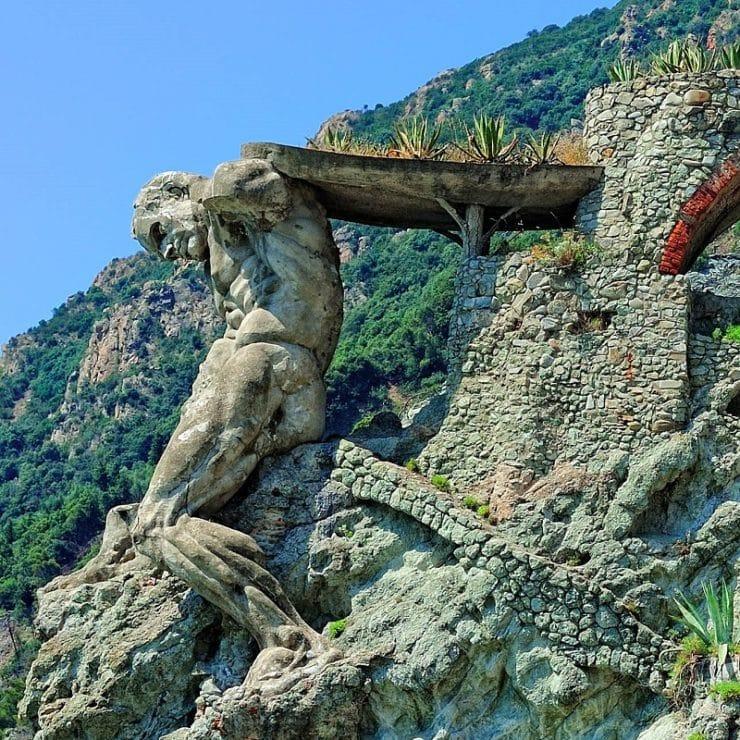 statue du géant monterosso