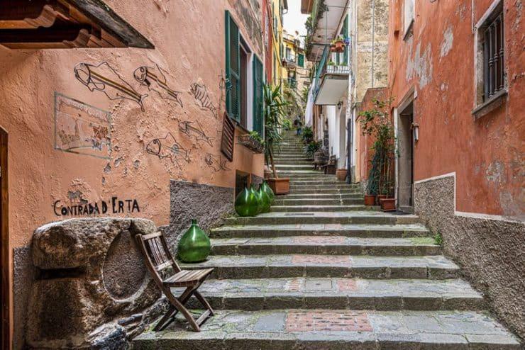 escalier à monterosso