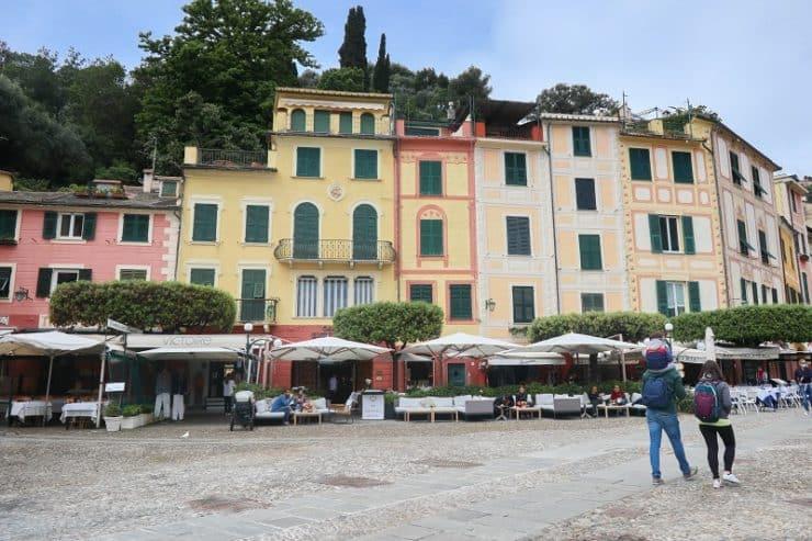 Piazza Martiri dell'Olivetta portofino