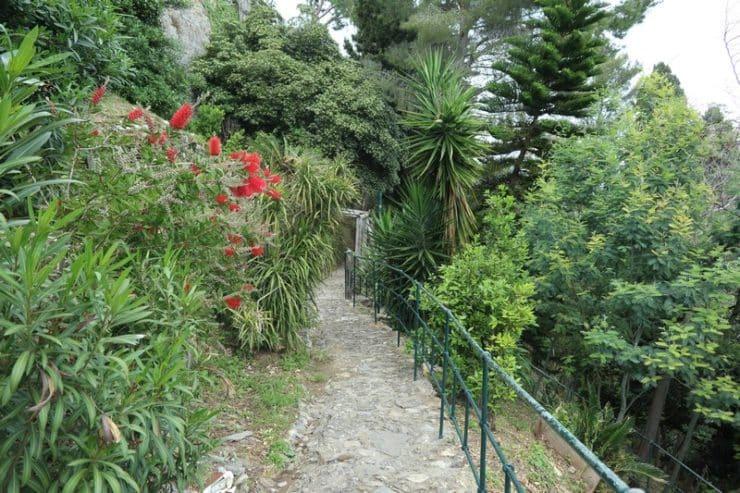 jardin du chateau portofino