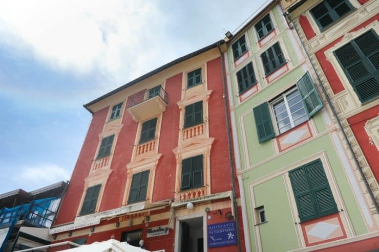 maisons colorées portofino