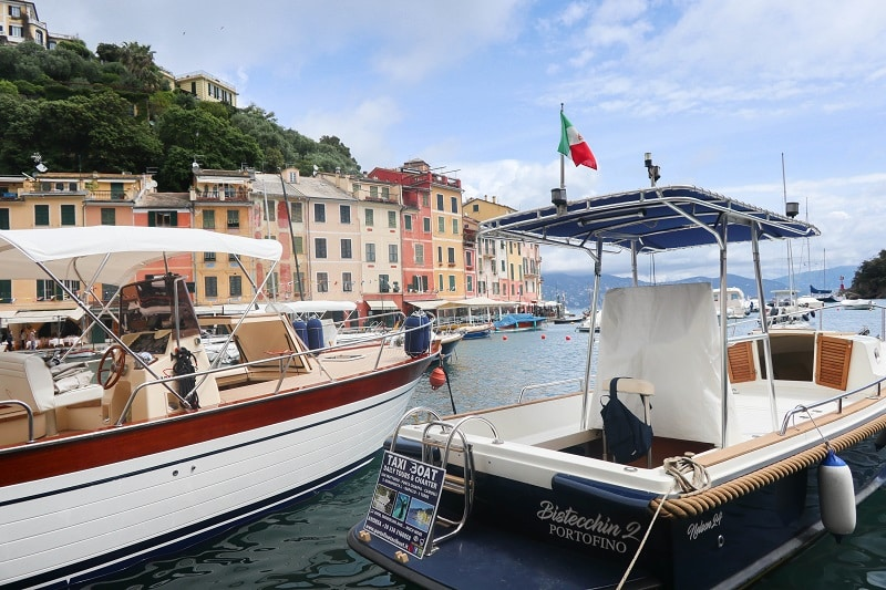 portofino bateaux
