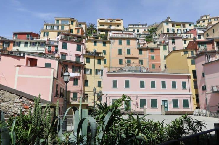 maisons colorées riomaggiore