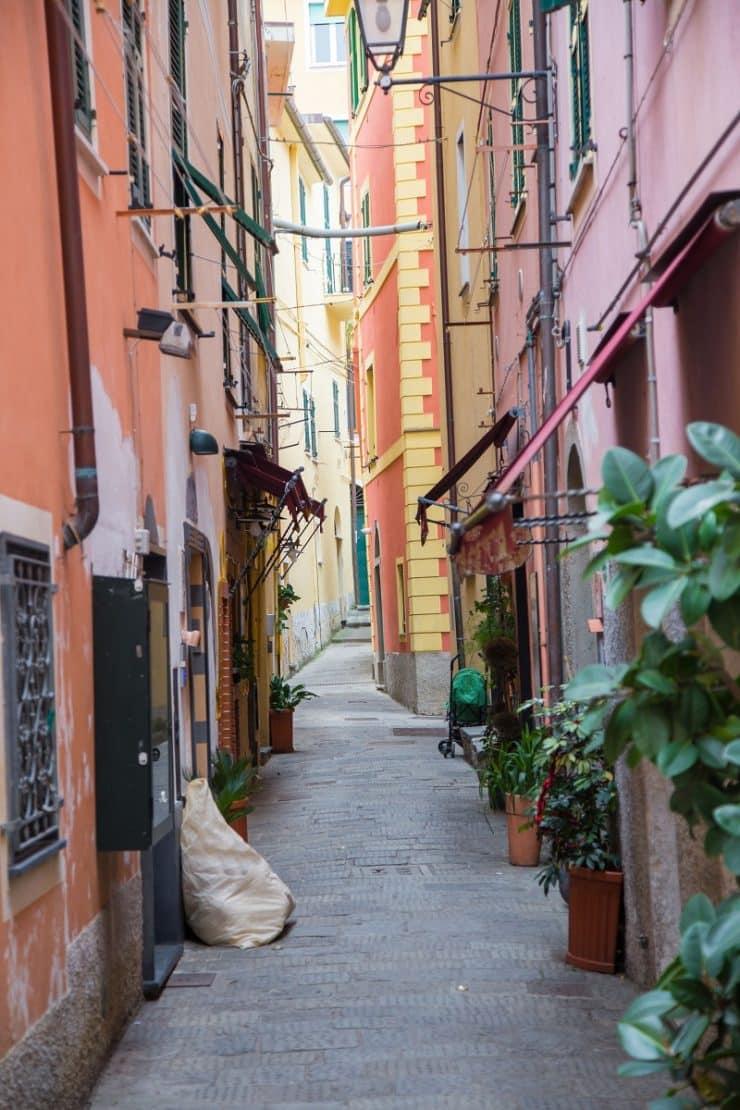 Monterosso al Mare rue