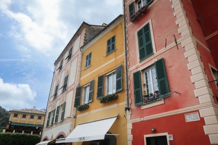 portofino maisons colorées