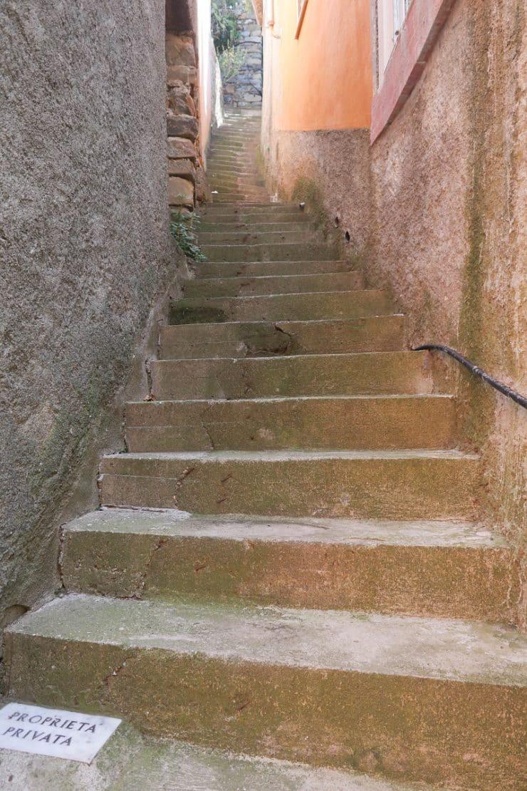 escalier riomaggiore