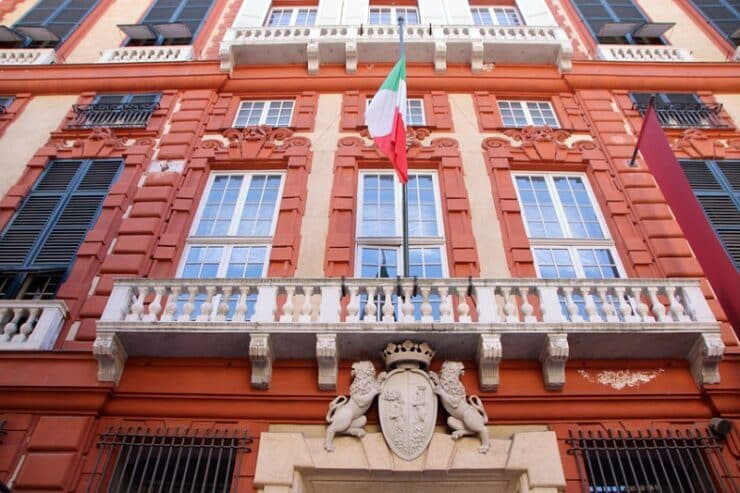 palazzo rosso gênes