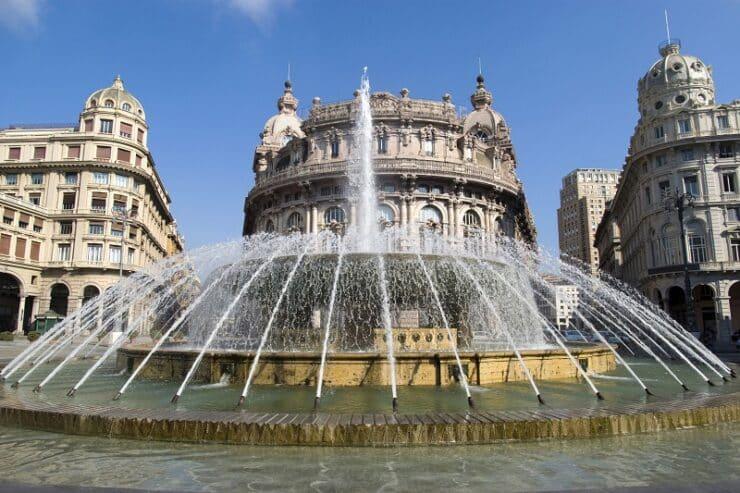 fontaine Piazza De Ferrari