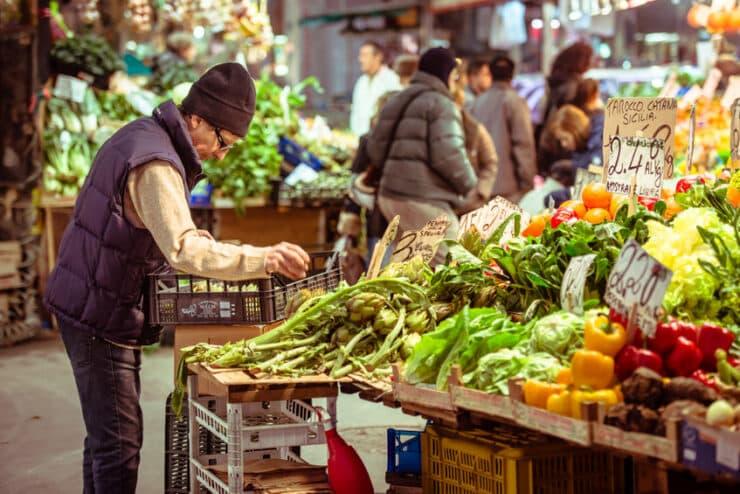 mercato orientale gênes