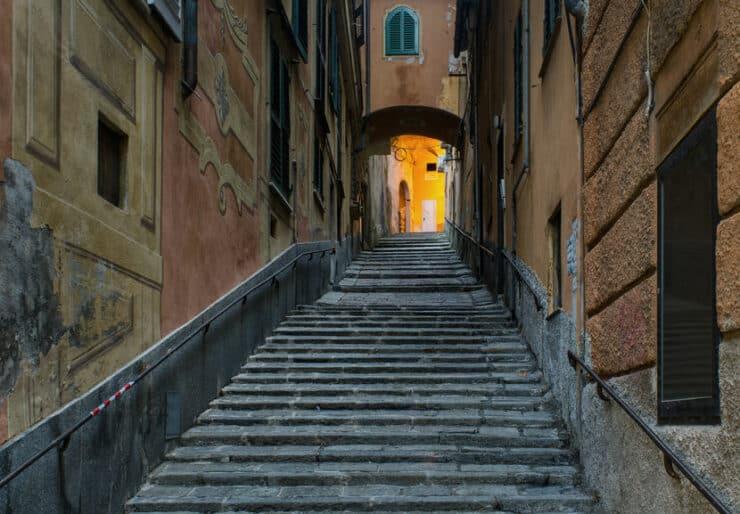 escalier à gênes