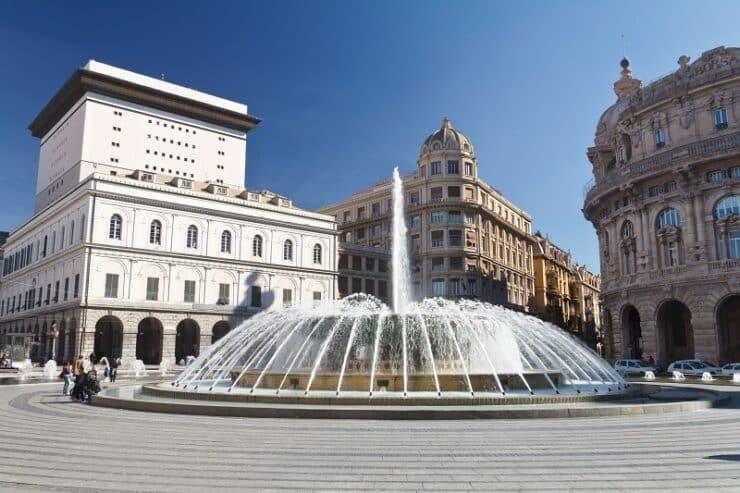 Piazza De Ferrari gênes