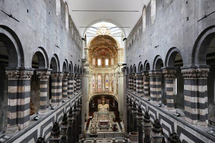 cathedrale de gênes intérieur