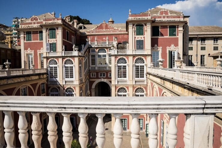 palazzo reale gênes