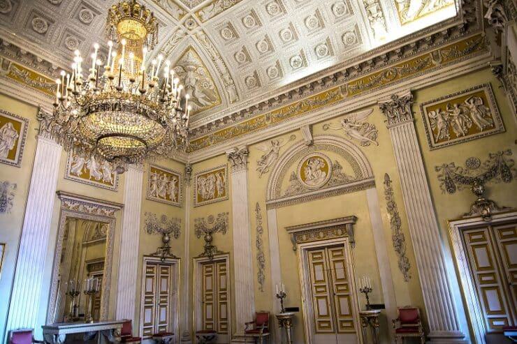 palazzo reale intérieur gênes