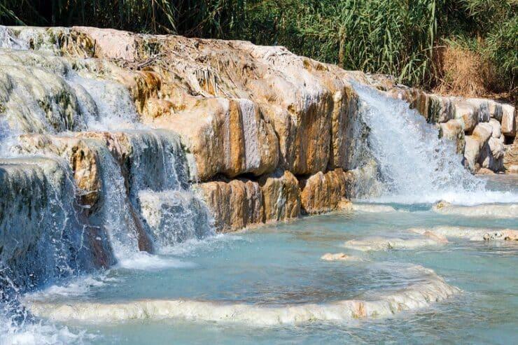 cascades du moulin toscane