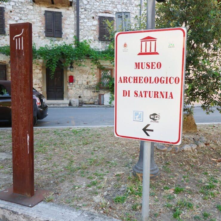 musée archéologique saturnia