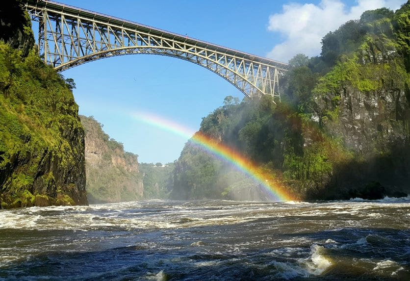 pont des chutes victoria