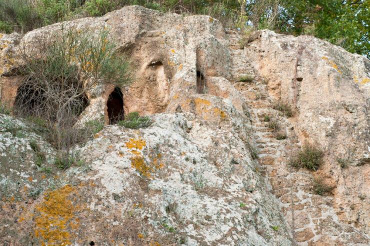 tombeau etrusque sovana