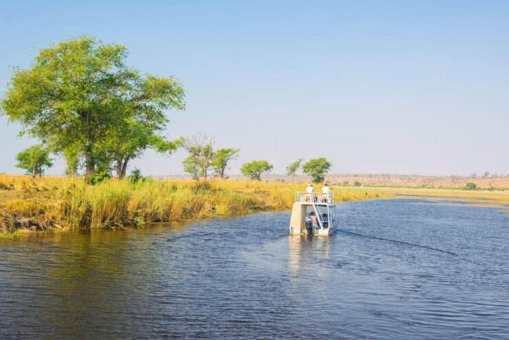 safari bateau botswana