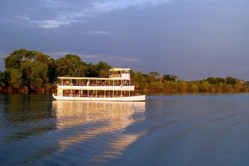 croisière fleuve zambèze