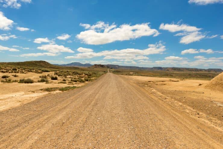 route désert des bardenas