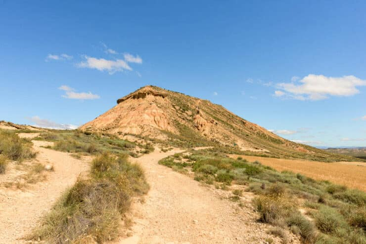 sentier désert des bardenas