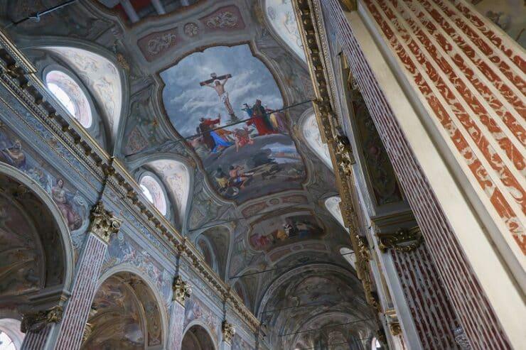 intérieur église Santa Maria de Nazareth