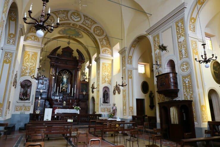 Santa Maria Immacolata intérieur