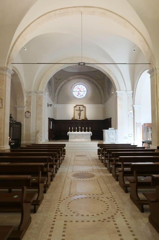 église San Nicola intérieur