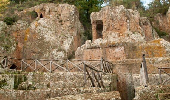 site étrusque sovana