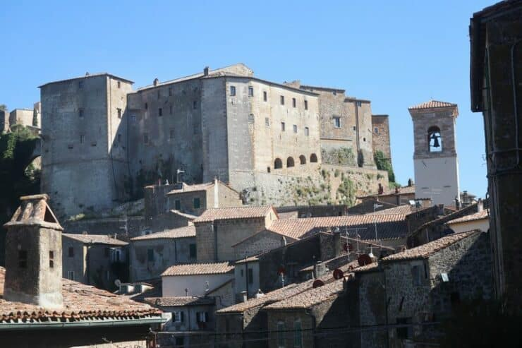 forteresse orsini sorano