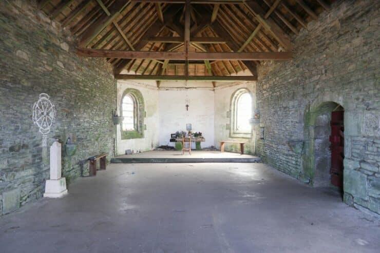 intérieur chapelle st michel