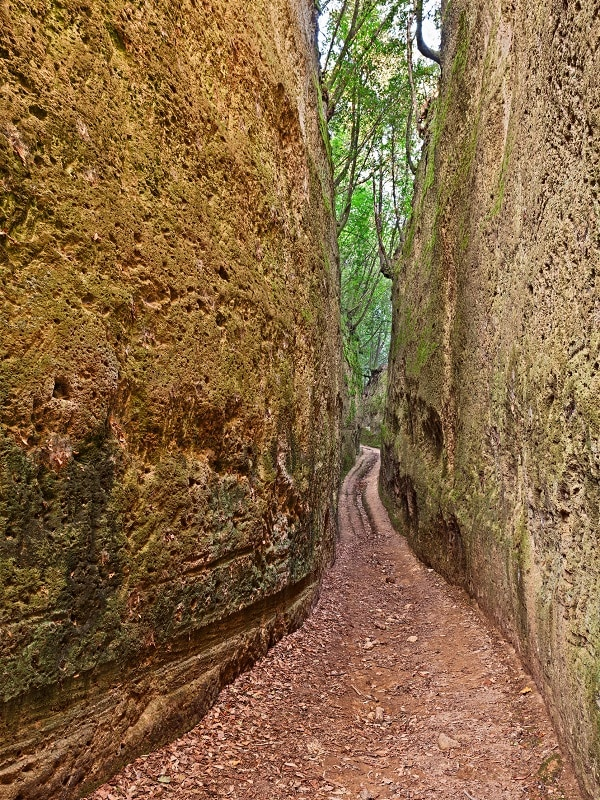 via cava Pitigliano