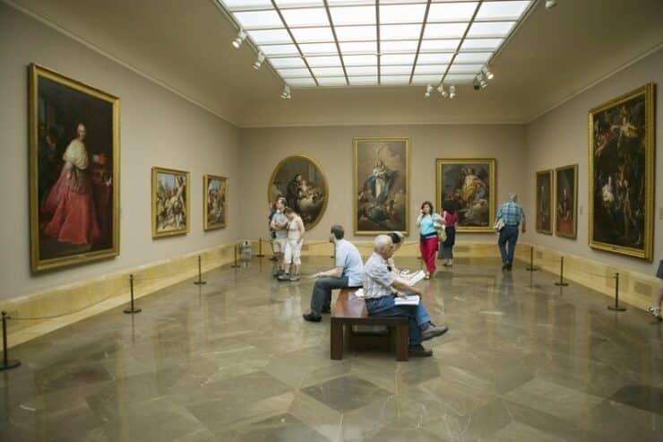 intérieur musée du prado