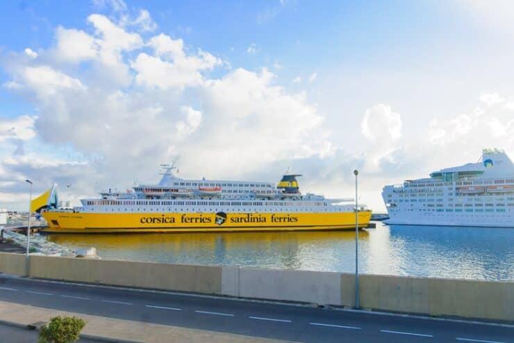 ferry bastia