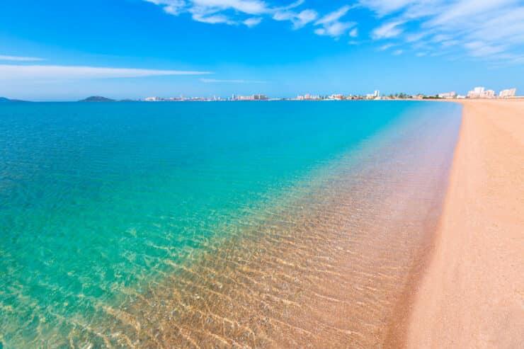 plus belle plage de la murcie