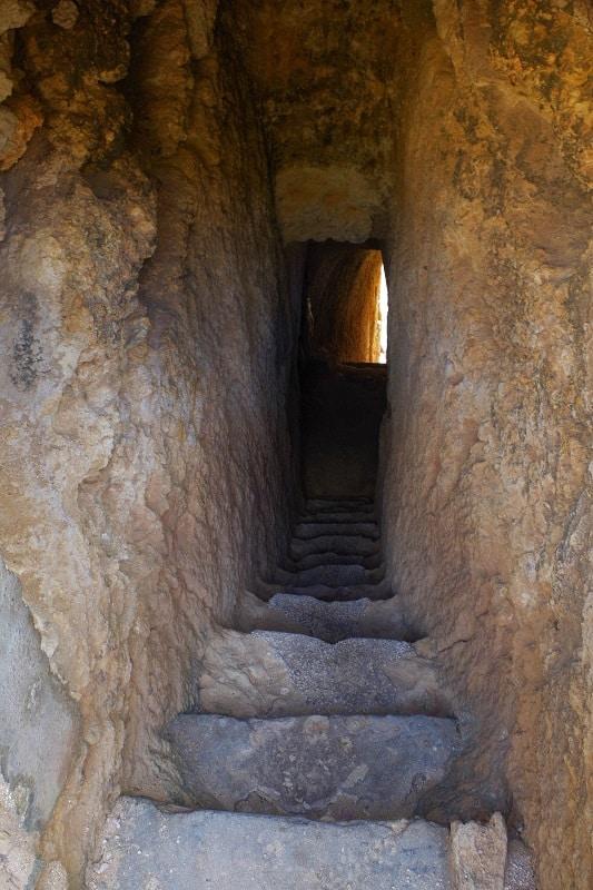 tunnel Praia do Carvalho