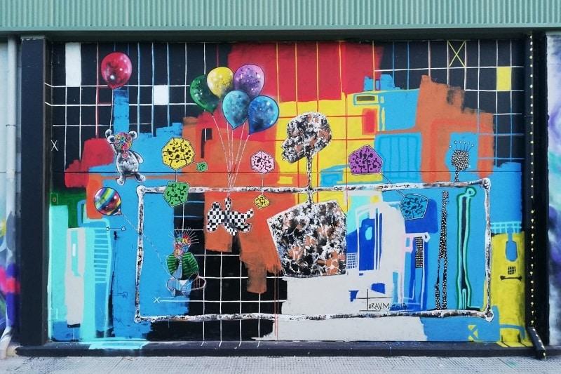 art de rue murcia