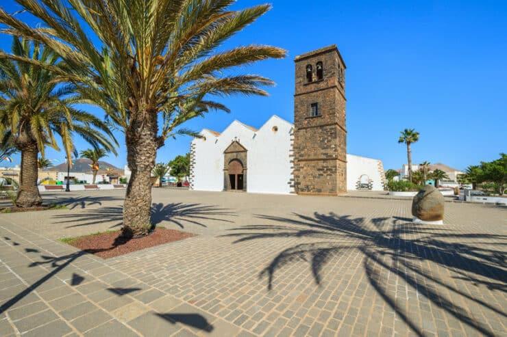 église la oliva à fuerteventura