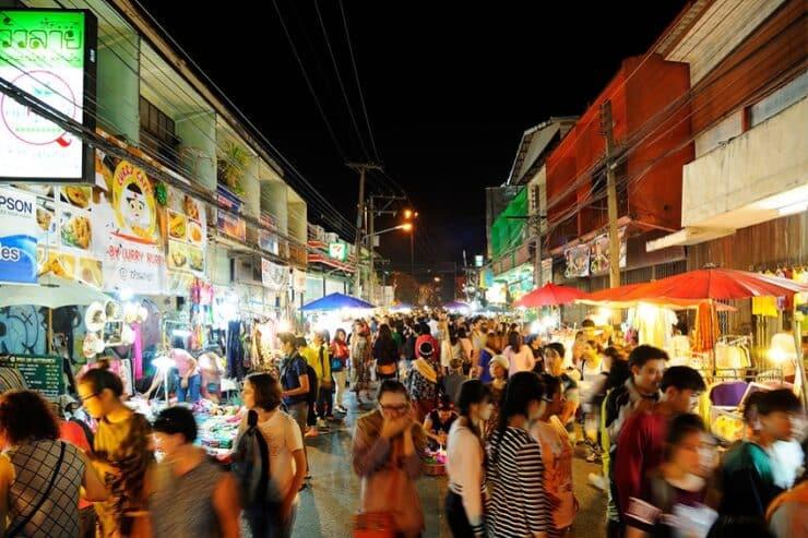 marché du samedi chiang mai