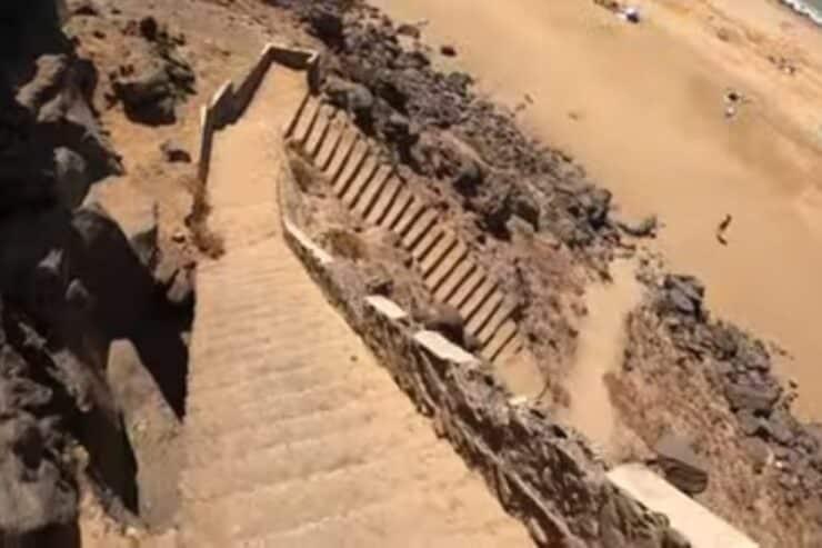 Playa de la Escalera fuerteventura