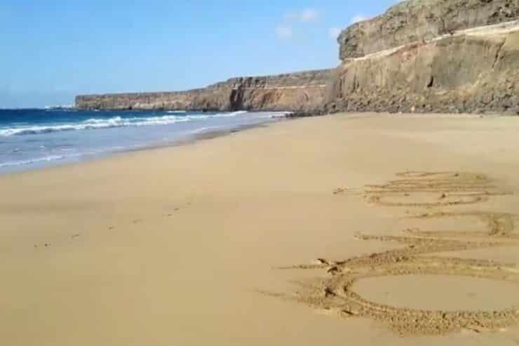 playa aguila fuerteventura