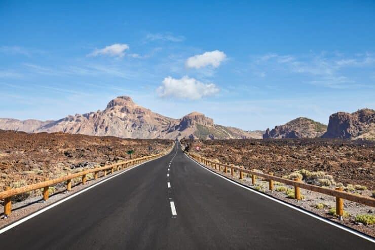 route parc national du teide