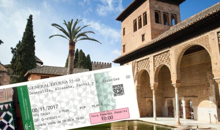 Comment acheter des billets pour l'Alhambra